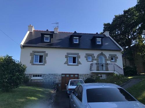 Rénovation façade et toiture d''une maison néo bretonne - Côtes d''Armor (22)