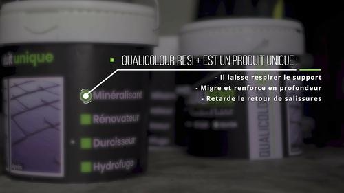 Le traitement Qualicolour resi + : contre l''oxydation des crochets et des ardoises